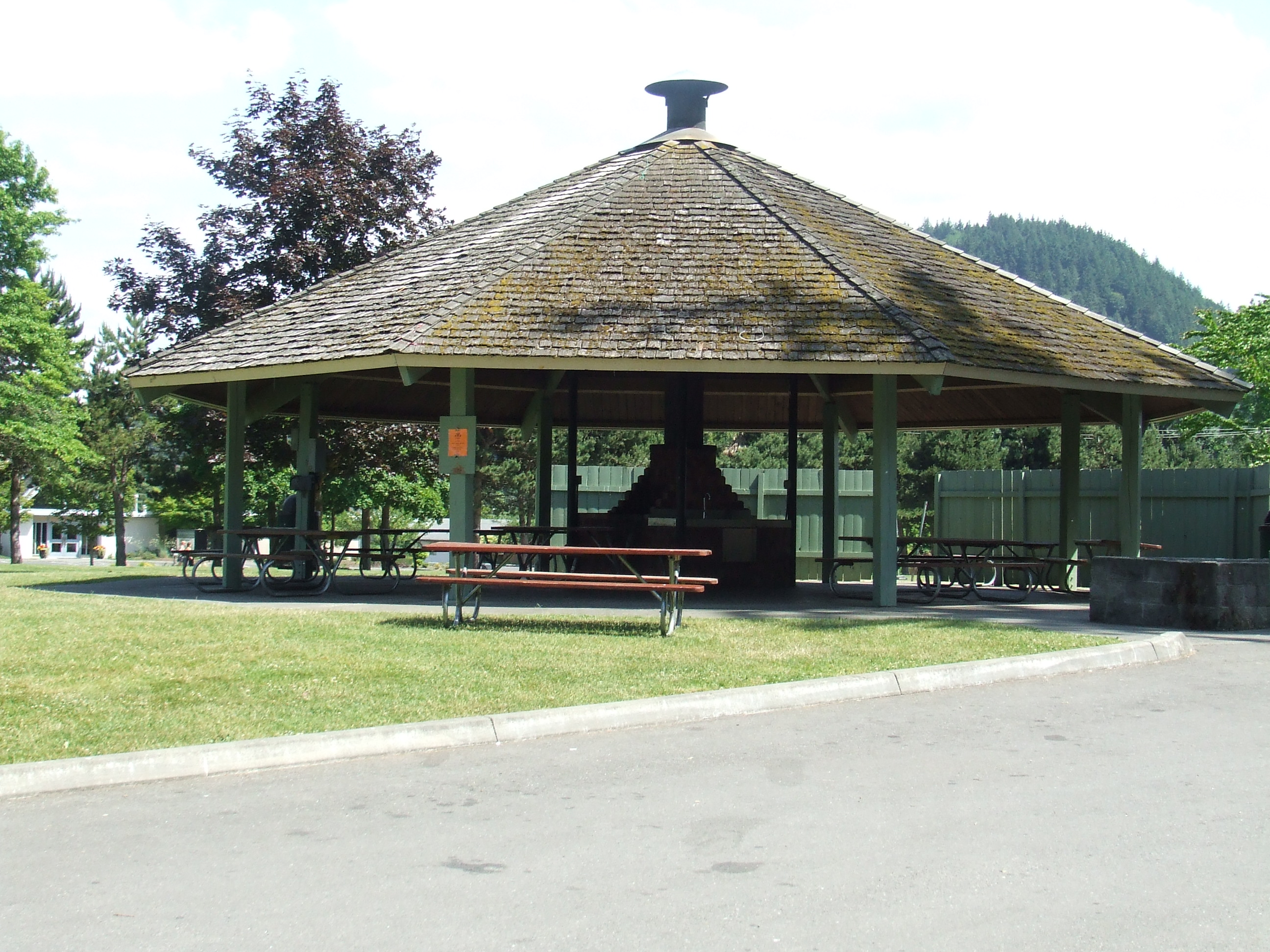 Gazebo at Hillcrest Park