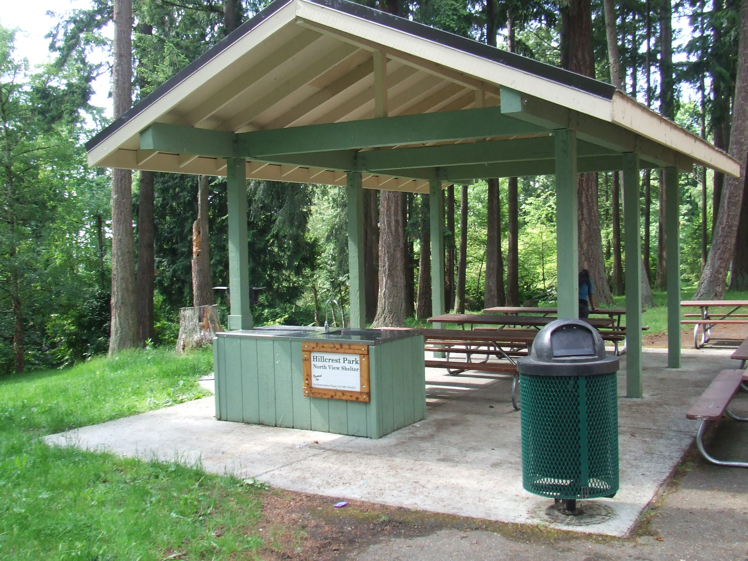 North View Shelter at Hillcrest Park