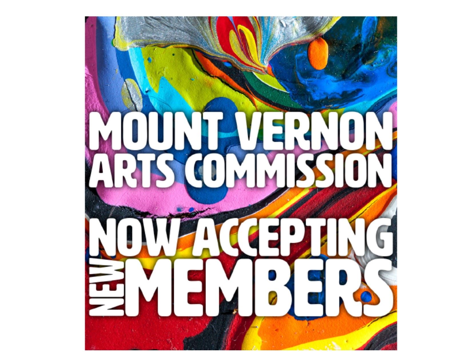 Mount Vernon Arts Commission - Open Board Member Positions